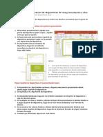 Copiar y Pegar Un Patrón de Diapositivas de Una Presentación a Otra