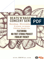Beats'n'Bagels Part IV