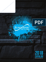 Supersonic 2018 Catalog