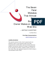 The 7 Fatal Mistakes That Almost Every Business Owner Makes on Their Web Site.pdf