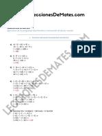 ESO1 Enteros Distributiva y Factor Común