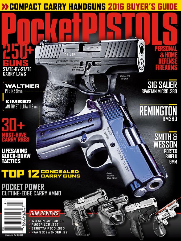 PP - May 2016 | Handgun | Trigger (Firearms)