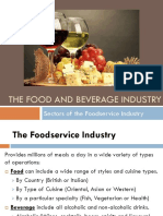 Chapter 1 - The Food and Beverage Industry