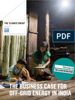 The Business Case for Offgrid Energy in India