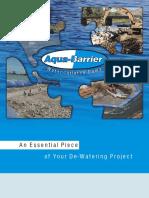 Aqua Barrier Literature