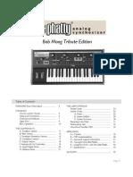 Moog LittlePhatty User Manual