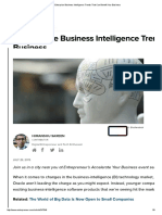 3 Enterprise Business Intelligence Trends That Can Benefit Your Business