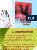 Mengenali Penyakit Difteri