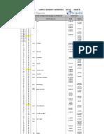 Balance de Comrpobación en Excel Hoja de Trabajouno