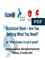EA Risk Society 2015-10-27 - Steel Standards Final