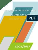 Sismos en México