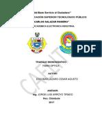 Monografia de Fibra Optica Escobar
