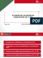 1805 Alcances de Los Dl 1221 y 1207