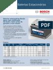Baterias Estacionárias Bosch