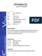 CV & Portfolio Yudistiro Sampurna