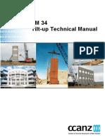 TM 34 Tilt-up Technical Manual
