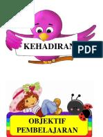 KEHADIRAN, objektif