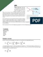 Wiki Fermat's Principle