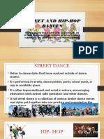 Street and Hip-hop Dances