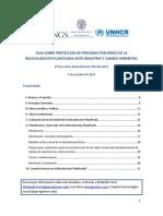 Guía Sobre Relocalización Planificada
