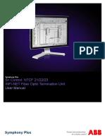 2VAA001712 en S Control NTCF 21-22-23 - InFI-NET Fiber Optic Termination Units