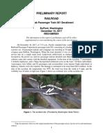NTSB - Amtrak Train Derailment Preliminary Report