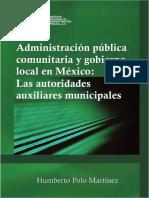 Administración Pública Comunitaria y gobierno local en México