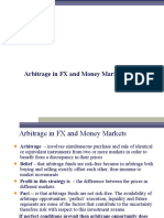 Arbitrage in the FX and Money Markets With Examples
