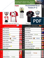Premier League 171223 round 19 Southampton - Huddersfield 1-1