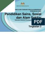 085 DSKP_KSSM_PKHAS_PEND SAINS SOSIAL DAN ALAM SEKITAR TINGKATAN 2.pdf