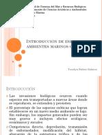 Introducción de Especies en Ambientes Marinos Chilenos