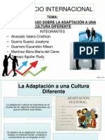 Adaptacion a Cultura Diferente