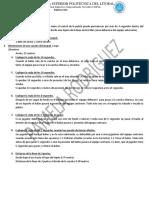 Baloncesto Cuestionario Espol
