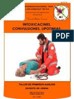 Intoxicaciones, Convulsiones, Lipotimias (1)