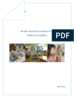 Wf Eh Health Safety Guidlines Child Care Facilities