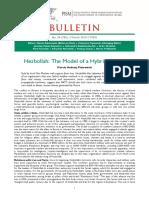 Bulletin PISM No 24 (756) 2 March 2015
