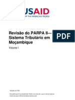 PARPA II Review of the Tax System in Mozambique Volume I Portuguese