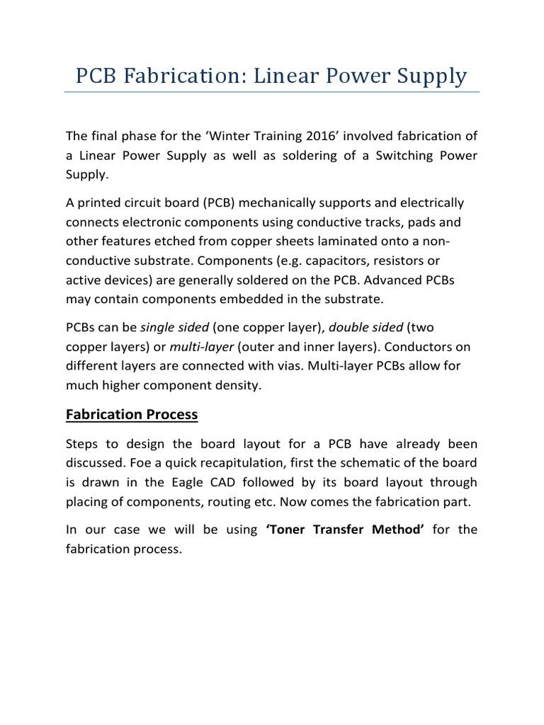 Pcb Fabrication Printed Circuit Board Materials Design Layout