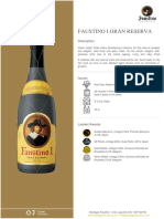 Grupo Gaustino [Bodegas Faustino.tasting Notes.faustino I Gran Reserva.pdf]