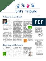 Telford Tribune - Welcome
