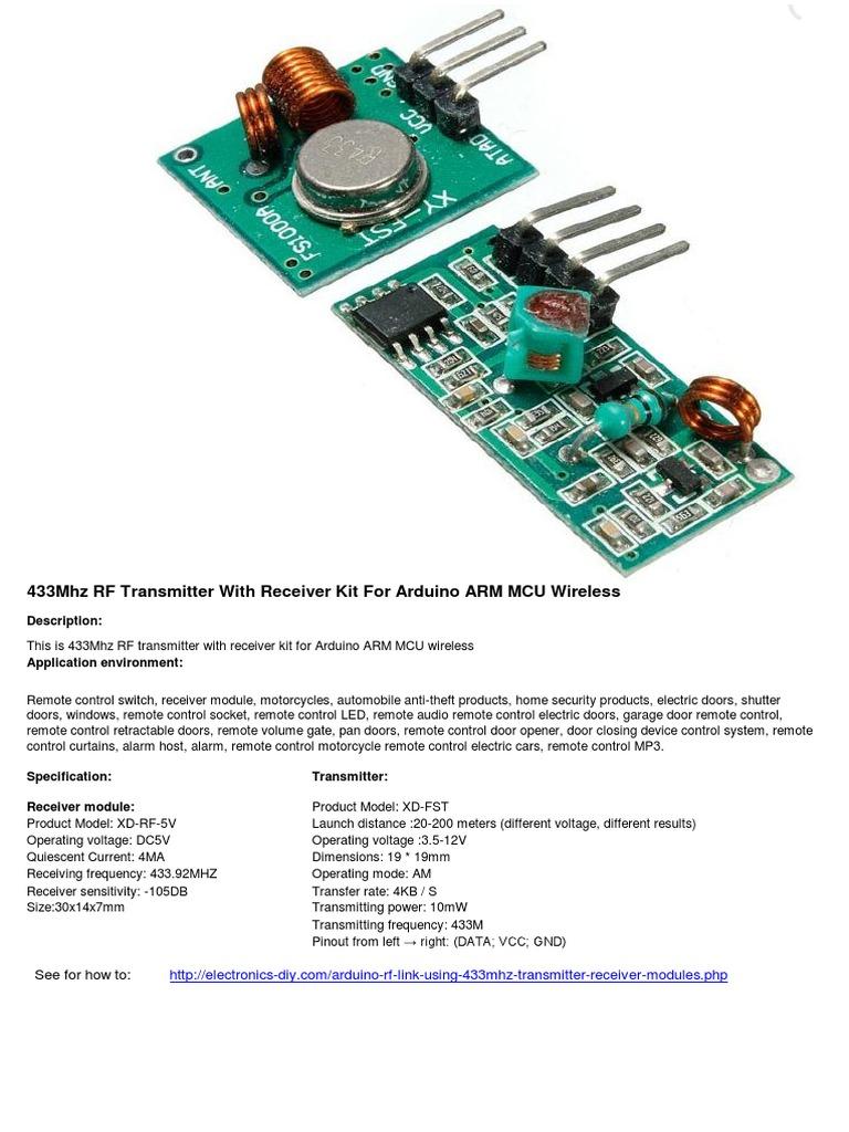 433Mhz_RF-TX&RX