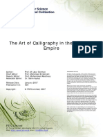 Art of Calligraphy in the Ottoman Empire Long PDF