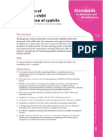 WHO Prevention of Mother-To-child Transmission of Syphilis