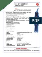 Ph Electrode Rp822pvv12k15bt
