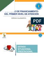 Convenio de Financiamiento Del Primer Nivel de Atencíon