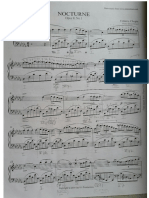 Chopin Nocturne Op. 9 No.  5 Analysis