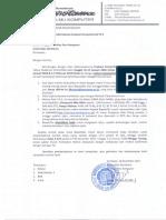 Surat Pemberitahuan CP 2 Jadwal CP2