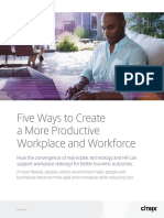 Five Ways to Create a More Productive Workplace