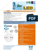 ELED-EDI-4680 Edison Modular Passive Star LED Heat Sink Φ46mm