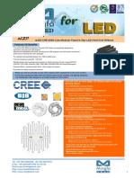 ELED-CRE-9550 Cree Modular Passive Star LED Heat Sink Φ95mm
